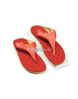 Kelly Jo Slipper 18 rood