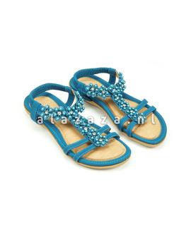 Kelly Jo Slipper 12 turquoise