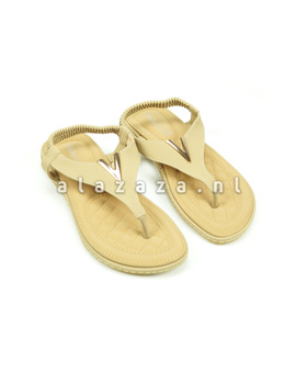 Kelly Jo Slipper 4 zand